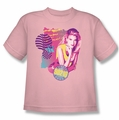 90210 youth teen t-shirt Donna pink