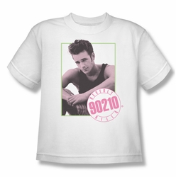 90210 youth teen t-shirt Dylan white