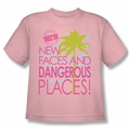 90210 youth teen t-shirt Tagline pink