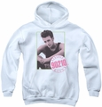 90210 youth teen hoodie Dylan white