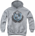 90210 youth teen hoodie West Beverly Hills High heather