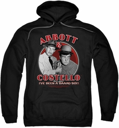 Abbott & Costello pull-over hoodie Bad Boy adult black