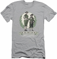 Abbott & Costello slim-fit t-shirt Be All You Can Be mens silver