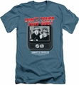 Abbott & Costello slim-fit t-shirt That Dial mens slate