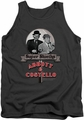 Abbott & Costello tank top Super Sleuths adult charcoal