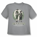 Abbott & Costello youth teen t-shirt Be All You Can Be silver