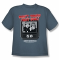Abbott & Costello youth teen t-shirt That Dial slate