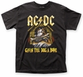 AC/DC Givin' the Dog a Bone adult tee black mens pre-order
