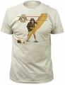 AC/DC high voltage cover fitted jersey tee vintage white t-shirt pre-order