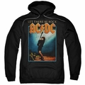 AC/DC pull-over hoodie Let There Be Rock adult Black