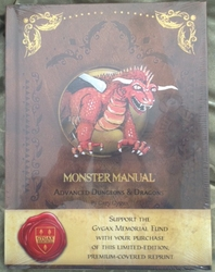 AD&D 1st Edition Premium Monster Manual HC