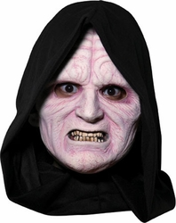 Adult Emperor Palpatine vinyl 3/4 mask Star Wars