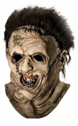 Adult Leatherface Deluxe overhead latex adult mask