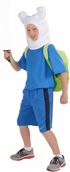 Adventure Time Finn childs deluxe costume