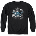 Aerosmith adult crewneck sweatshirt Rock N Round black