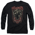 Aerosmith adult long-sleeved shirt Let Rock Rule black