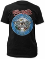 Aerosmith aero force fitted jersey tee black t-shirt pre-order