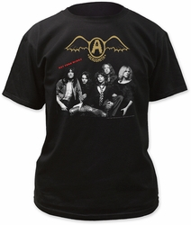 Aerosmith get your wings adult tee black t-shirt pre-order