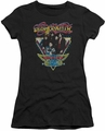 Aerosmith juniors sheer t-shirt Triangle Stars black