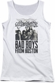 Aerosmith juniors tank top Bad Boys white