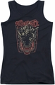 Aerosmith juniors tank top Let Rock Rule black