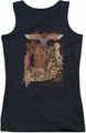 Aerosmith juniors tank top Toys black