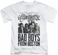 Aerosmith kids t-shirt Bad Boys white