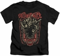 Aerosmith kids t-shirt Let Rock Rule black