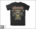 Aerosmith Let the Music Jukebox mens t-shirt black