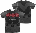 Aerosmith mens full sublimation t-shirt Rocks