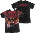 Aerosmith mens full sublimation t-shirt Stage