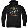 Aerosmith pull-over hoodie Get Your Wings adult black