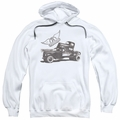 Aerosmith pull-over hoodie Pump adult white