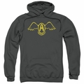 Aerosmith pull-over hoodie Retro Logo adult charcoal