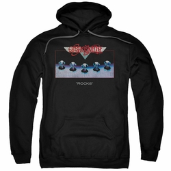Aerosmith pull-over hoodie Rocks adult black