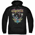 Aerosmith pull-over hoodie Triangle Stars adult black