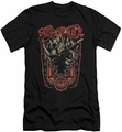 Aerosmith slim-fit t-shirt Let Rock Rule mens black