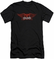 Aerosmith slim-fit t-shirt Winged Logo mens black