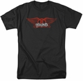 Aerosmith t-shirt Winged Logo mens black
