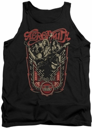 Aerosmith tank top Let Rock Rule adult black