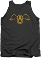 Aerosmith tank top Retro Logo adult charcoal