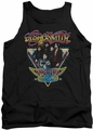Aerosmith tank top Triangle Stars adult black