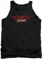 Aerosmith tank top Winged Logo adult black