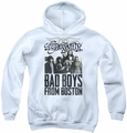 Aerosmith youth teen hoodie Bad Boys white
