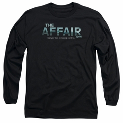 Affair adult long-sleeved shirt Ocean Logo black