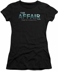 Affair juniors t-shirt Ocean Logo black
