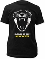 Against Me! new wave fitted jersey tee black t-shirt pre-order