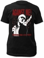 Against Me! reinventing axl rose fitted jersey tee black t-shirt pre-order