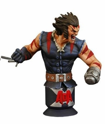 Age of Apocalypse Weapon X bust Marvel Universe