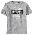 Agents of S.H.I.E.L.D. Grunged Stamp t-shirt men heather
